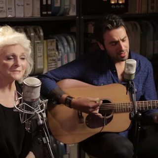 Judy Collins and Ari Hest at Paste Studios on May 10, 2016