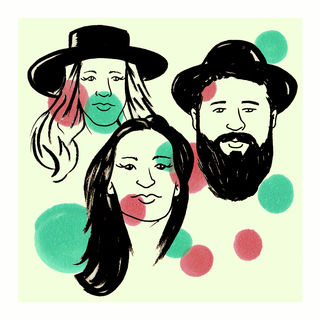 The Waifs at Compass Sound Studios on Apr 25, 2016