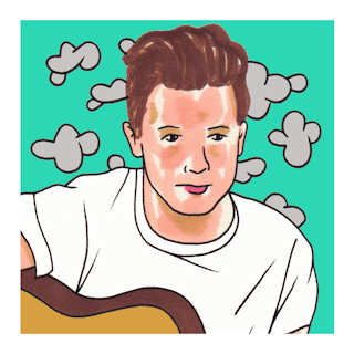 John Lindahl at Daytrotter Studios on Aug 23, 2016