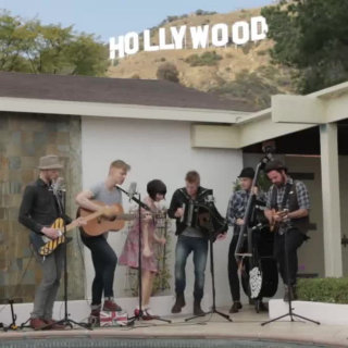 Skinny Lister at Hollywood Hills Home on Apr 15, 2013