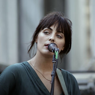 Breanna Barbara at Bryant Park on Aug 19, 2017