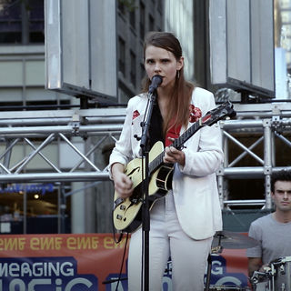 Cassandra Jenkins at Bryant Park on Aug 19, 2017