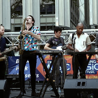 Super Yamba Band at Bryant Park on Aug 19, 2017