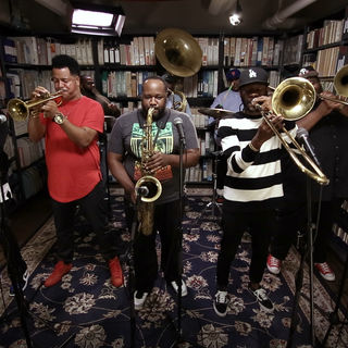 The Soul Rebels at Paste Studios on Sep 12, 2017