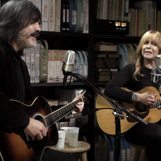 Larry Campbell & Teresa Williams at Paste Studios on Nov 7, 2017