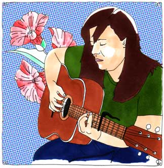 Jennifer O'Connor at Daytrotter Studio on Aug 27, 2006