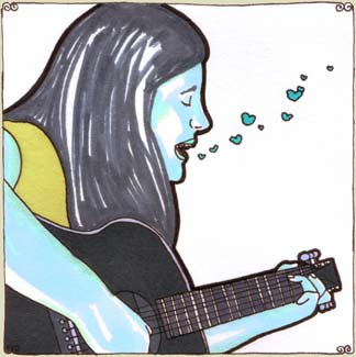 Jennifer O'Connor at Daytrotter Studio on Aug 21, 2008