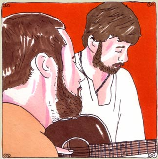 Jay Nash, Joey Ryan and Chris Seefried at Daytrotter Studio on Sep 11, 2008