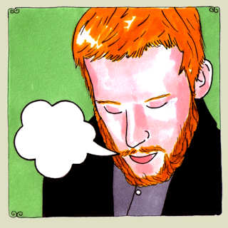 Kevin Devine and the Goddamn Band at Daytrotter Studio on May 12, 2009
