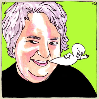 Daniel Johnston at Big Orange Studios on Aug 3, 2009