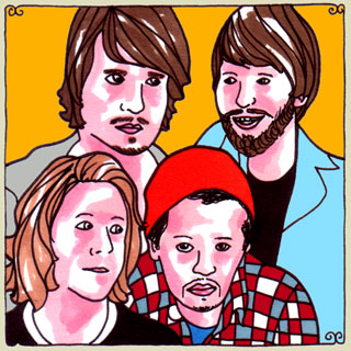 The Temper Trap at Daytrotter Studio on May 17, 2010