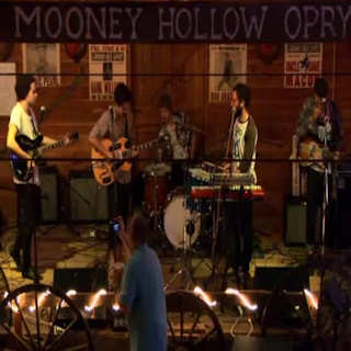 Local Natives at Mooney Hollow Saloon Barn on Jul 26, 2009