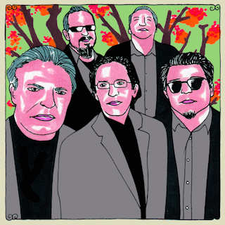 Los Lobos at Big Orange Studios on Mar 7, 2011