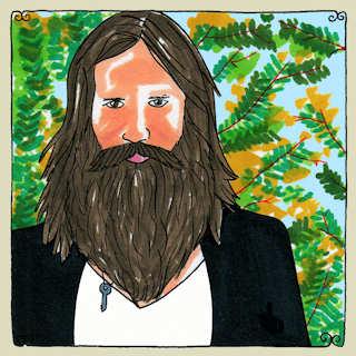 Josh T. Pearson at Big Orange Studios on May 16, 2011