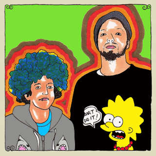 Kimya Dawson & Aesop Rock at Daytrotter Studio on May 26, 2011