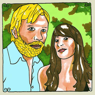 Nicki and Tim Bluhm at Daytrotter Studio on Jan 31, 2012