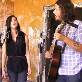 The Civil Wars at Newport Folk Festival on Jul 31, 2011