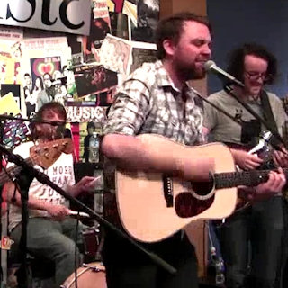 Frightened Rabbit at Paste Magazine Offices on Aug 11, 2011