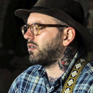 City and Colour at Paste Ruins at Newport Folk Festival on Jul 28, 2012