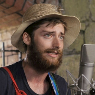 Jonah Tolchin at Paste Ruins at Newport Folk Festival on Jul 29, 2012