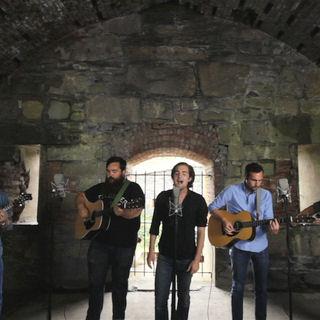 Apache Relay at Paste Ruins at Newport Folk Festival on Jul 29, 2012