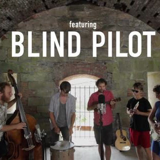 Blind Pilot at Paste Ruins at Newport Folk Festival on Jul 28, 2012