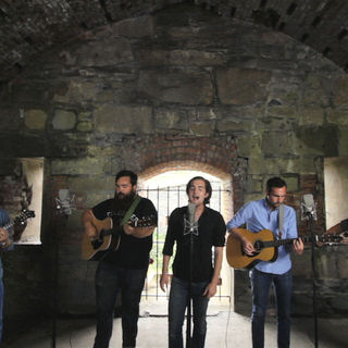 Apache Relay at Paste Ruins at Newport Folk Festival on Jul 29, 2012