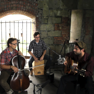 Dawes And Ben Sollee at Paste Ruins at Newport Folk Festival on Jul 29, 2012