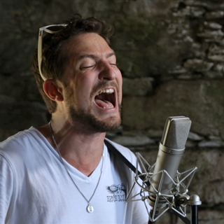 Frank Turner at Paste Ruins at Newport Folk Festival on Jul 27, 2013