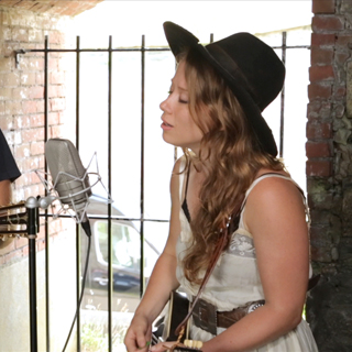 The Lone Bellow at Paste Ruins at Newport Folk Festival on Jul 27, 2013