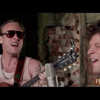 Deer Tick at Paste Ruins at Newport Folk Festival on Jul 28, 2013
