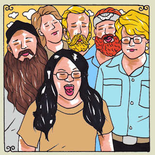 Jack Grelle and the Johnson Family at Daytrotter Studio on Oct 24, 2013