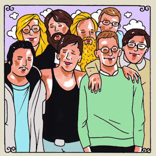 Mumford's at Daytrotter Studio on Dec 9, 2013