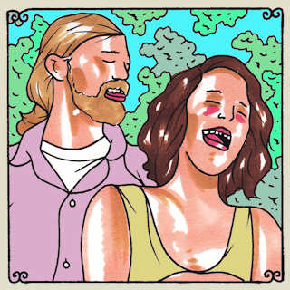 Dave McGraw & Mandy Fer at Daytrotter Studio on Jan 1, 2014