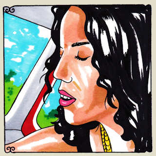 Xenia Rubinos at Daytrotter Studio on Feb 12, 2014