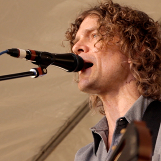 Brendan Benson at Paste Magazine Offices on Jan 25, 2010