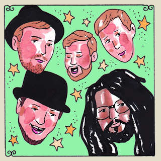 Dirty Bourbon River Show at Daytrotter Studio on May 12, 2014