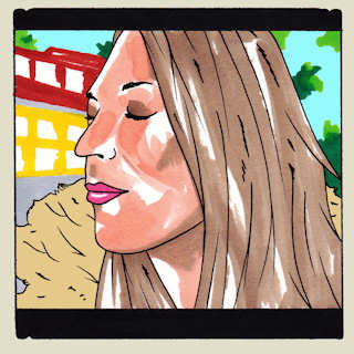 Angela Perley & The Howlin' Moons at Daytrotter Studio on Aug 8, 2014