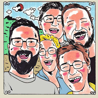 The Dust of Men at Daytrotter Studio on Aug 27, 2014