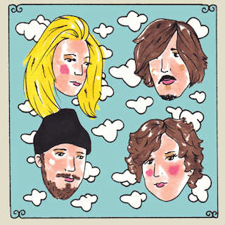 Beverly at Daytrotter Studio on Oct 2, 2014