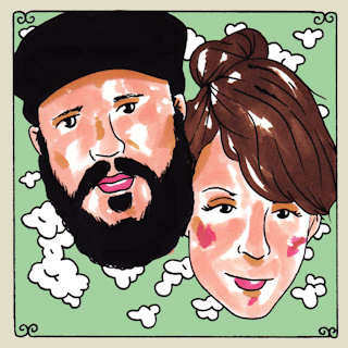 Mark Rogers and Mary Byrne at Daytrotter Studio on Nov 20, 2014