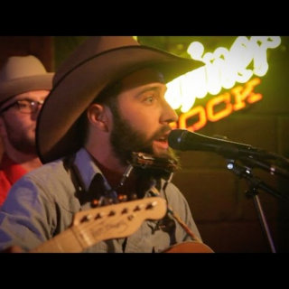 Luke Bell at Hometown Bar-B-Que on Oct 25, 2014