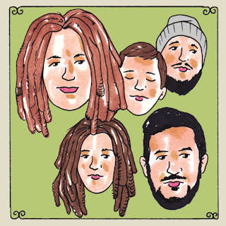 The Way Down Wanderers at Daytrotter Studio on Nov 8, 2014