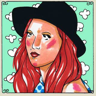 Meghann Wright at Daytrotter Studio on Jul 6, 2015