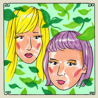 Gracie and Rachel at Futureappletree on Aug 24, 2015