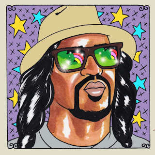 Dam-Funk at New Monkey Studio on Sep 3, 2015