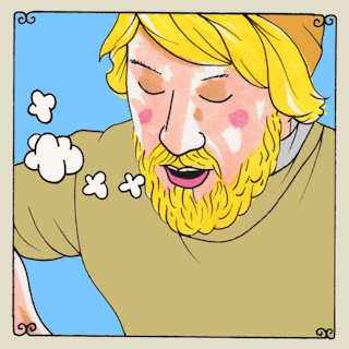 Laser Background at Daytrotter Studio on Sep 4, 2015