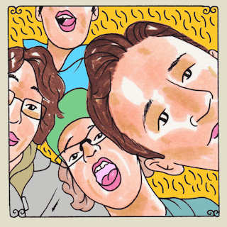 Dolores at Daytrotter Studio on Sep 24, 2015