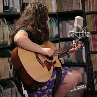Palehound at Paste Studios on Oct 14, 2015