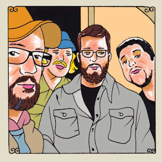Monday Mourners at Daytrotter Studio on Dec 9, 2015